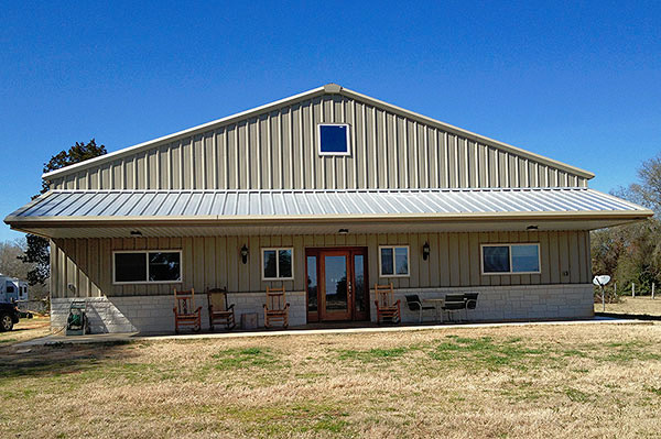 Texas Barndominiums Custom Homes And Retreats By RBS