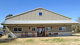 Texas barndominiums and retreats by RBS
